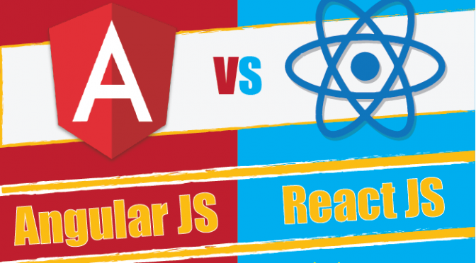 AngularJS v/s ReactJS – Which is the best framework for your JavaScript project?