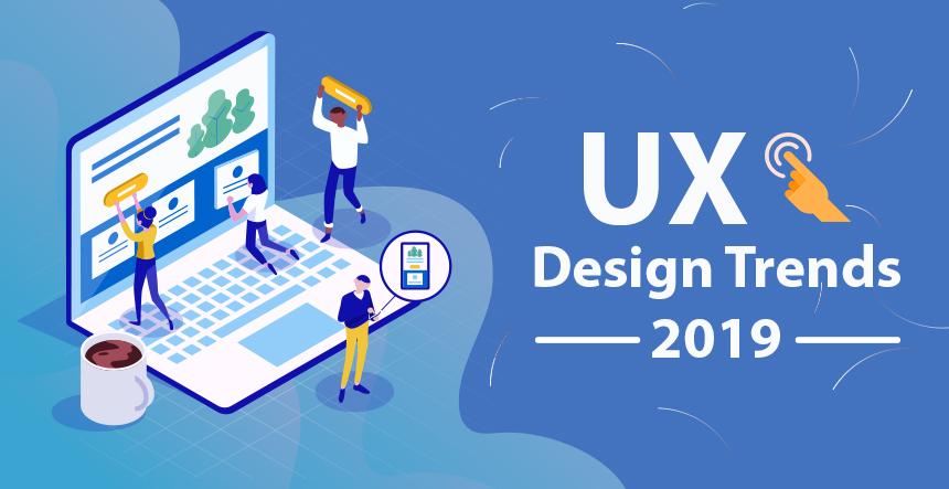 UX UI Design Trends 2019